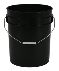 5 Gallon Bucket Black 75mm