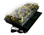 "Germination Station w/ Heat Mat, tray, 72 cell pack, 2"" dome"