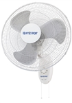 Hurricane Supreme Oscillating Wall Mount Fan 18 in