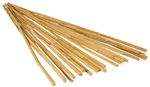 NATURAL BAMBOO STAKE 6' pack of 25