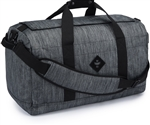 Revelry Supply The Around-Towner Medium Duffle, Striped Dark Grey