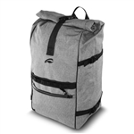 Roll Up Backpack Gray
